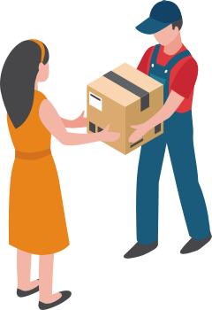 Doręczenie przesyłki